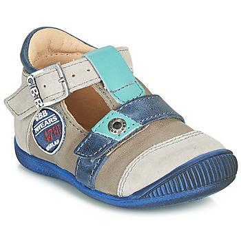 Čevlji  Dečki Sandali & Odprti čevlji GBB STANISLAS Vtc / Taupe-modra / Dpf / Raiza