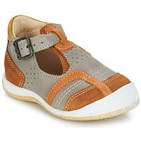 Čevlji  Dečki Sandali & Odprti čevlji GBB SIGMUND Taupe / Cognac