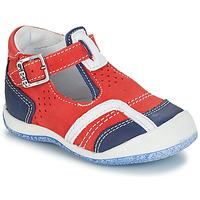 Čevlji  Dečki Sandali & Odprti čevlji GBB SIGMUND Rdeča / Modra