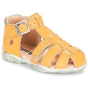 Čevlji  Dečki Sandali & Odprti čevlji GBB PRIGENT Rumena