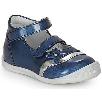 Čevlji  Deklice Sandali & Odprti čevlji GBB STACY Vvn / Modra-print / Dpf / Zafra