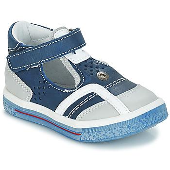 Čevlji  Deklice Balerinke GBB SALVADORE Modra / Siva