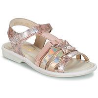 Čevlji  Deklice Sandali & Odprti čevlji GBB SCARLET Rožnata