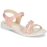 Čevlji  Deklice Sandali & Odprti čevlji GBB SWAN Rožnata