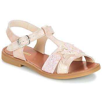 Čevlji  Deklice Sandali & Odprti čevlji GBB SHANTI Rožnata