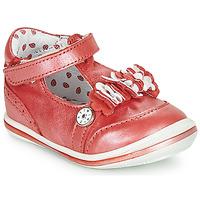 Čevlji  Deklice Balerinke Catimini SANTOLINE Rdeča