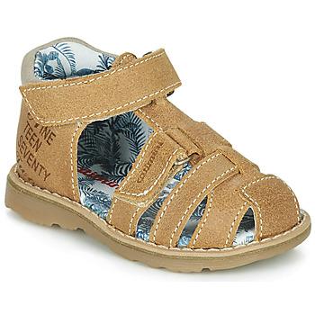 Čevlji  Dečki Sandali & Odprti čevlji Catimini SYCOMORE Cognac