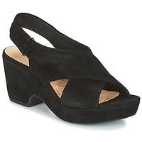 Čevlji  Ženske Sandali & Odprti čevlji Clarks MARITSA LARA Črna