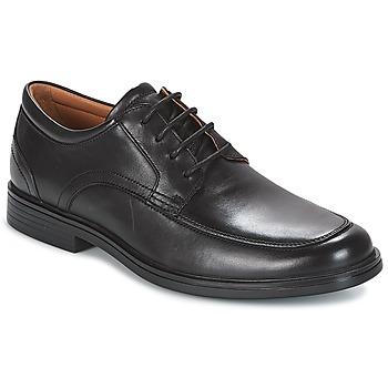 Čevlji  Moški Čevlji Derby Clarks UN ALDRIC PARK Črna