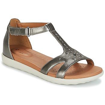 Čevlji  Ženske Sandali & Odprti čevlji Clarks UN REISEL MARA Srebrna