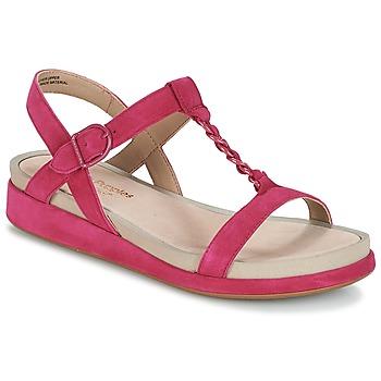 Čevlji  Ženske Sandali & Odprti čevlji Hush puppies CHAIN T Malina