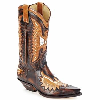 Čevlji  Moški Mestni škornji    Sendra boots CHELY Kostanjeva