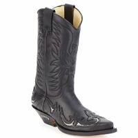 Čevlji  Mestni škornji    Sendra boots CLIFF Črna