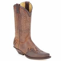 Čevlji  Mestni škornji    Sendra boots BUNDA Kostanjeva