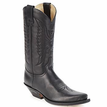 Čevlji  Mestni škornji    Sendra boots FLOYD Črna