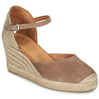 Čevlji  Ženske Sandali & Odprti čevlji Unisa CARCERES Taupe