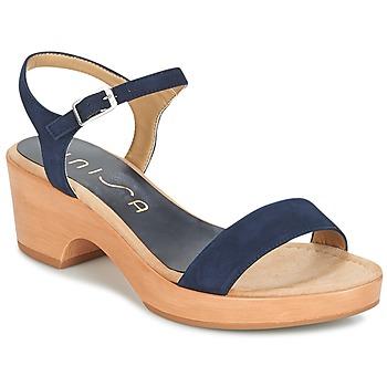 Čevlji  Ženske Sandali & Odprti čevlji Unisa IRITA Modra