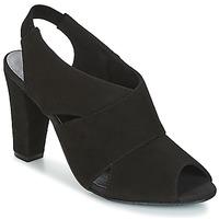 Čevlji  Ženske Sandali & Odprti čevlji KG by Kurt Geiger FOOT-COVERAGE-FLEX-SANDAL-BLACK Črna