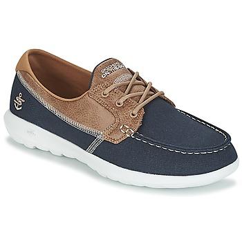 Čevlji  Ženske Mokasini & Jadralni čevlji Skechers GO WALK LITE Modra