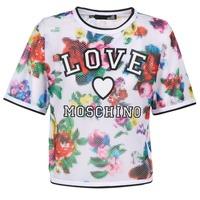 Oblačila Ženske Topi & Bluze Love Moschino W4G2801 Bela