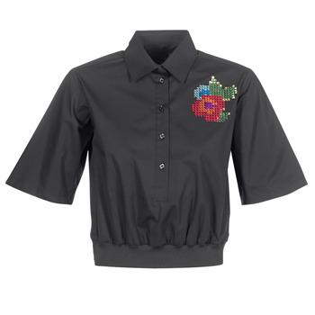 Oblačila Ženske Srajce & Bluze Love Moschino WCC5401 Črna