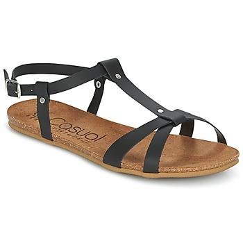 Čevlji  Ženske Sandali & Odprti čevlji Casual Attitude IPLEM Črna