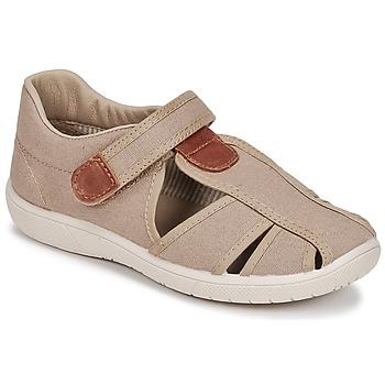Čevlji  Dečki Sandali & Odprti čevlji Citrouille et Compagnie GUNCAL Bež