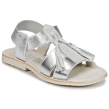 Čevlji  Deklice Sandali & Odprti čevlji Citrouille et Compagnie INAPLATA Srebrna