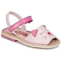 Čevlji  Deklice Sandali & Odprti čevlji Citrouille et Compagnie ILOUDFI Rožnata