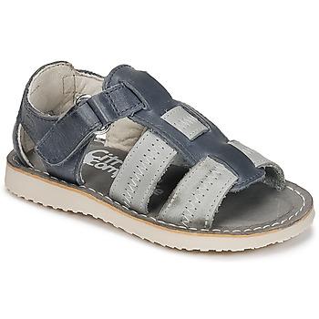 Čevlji  Dečki Sandali & Odprti čevlji Citrouille et Compagnie IOUTIKER Modra / Siva