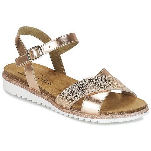 Čevlji  Deklice Sandali & Odprti čevlji Citrouille et Compagnie GAUFRETTE Bronze
