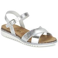 Čevlji  Deklice Sandali & Odprti čevlji Citrouille et Compagnie GAUFRETTE Srebrna