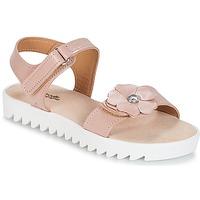 Čevlji  Deklice Sandali & Odprti čevlji Citrouille et Compagnie ILODO Rožnata