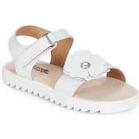 Čevlji  Deklice Sandali & Odprti čevlji Citrouille et Compagnie ILODO Bela