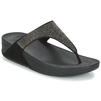 Čevlji  Ženske Japonke FitFlop SLINKY ROKKIT Črna