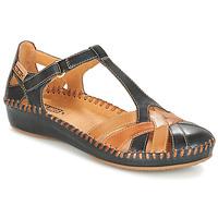 Čevlji  Ženske Sandali & Odprti čevlji Pikolinos P. VALLARTA 655 Kamel