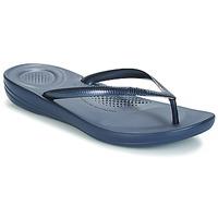 Čevlji  Ženske Japonke FitFlop IQUSHION ERGONOMIC FLIP-FLOPS Modra
