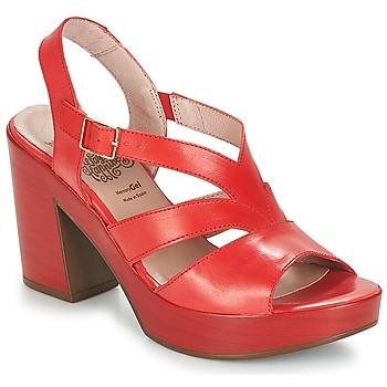 Čevlji  Ženske Sandali & Odprti čevlji Wonders JOPERJO Rdeča