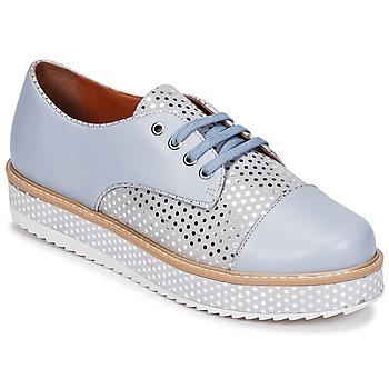 Čevlji  Ženske Čevlji Derby Cristofoli FILIPY Modra