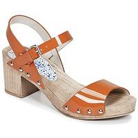 Čevlji  Ženske Sandali & Odprti čevlji Ippon Vintage SOK COLORS Oranžna