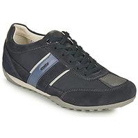 Čevlji  Moški Nizke superge Geox U WELLS C Modra