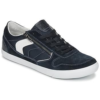 Čevlji  Moški Nizke superge Geox U BOX C Modra