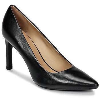 Čevlji  Ženske Salonarji Geox FAVIOLA C Črna
