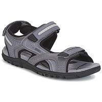 Čevlji  Moški Sandali & Odprti čevlji Geox S.STRADA D Siva