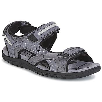 Čevlji  Moški Športni sandali Geox S.STRADA D Siva