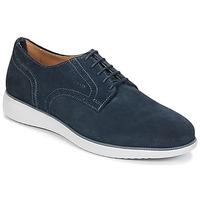 Čevlji  Moški Čevlji Derby Geox WINFRED A Modra