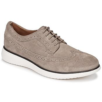 Čevlji  Moški Čevlji Derby Geox WINFRED C Taupe