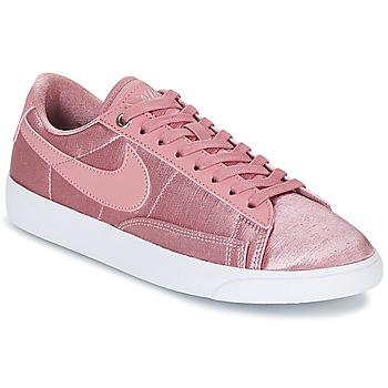 Čevlji  Ženske Nizke superge Nike BLAZER LOW SE W Rožnata