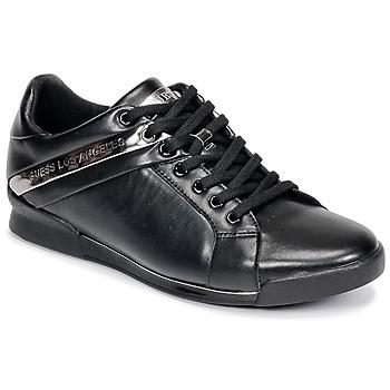 Čevlji  Moški Nizke superge Guess NEW GEORG Črna