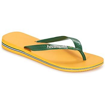 Čevlji  Japonke Havaianas BRAZIL LOGO Rumena